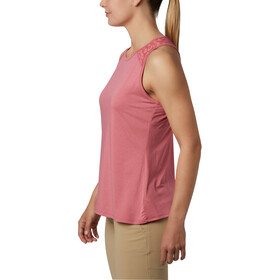 Columbia Peak To Point II Top sin Mangas Mujer, rouge pink heather